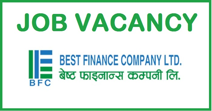 Best Finance Company Limited Vacancy