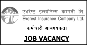 Read more about the article Everest Insurance Company Vacancy for Various Post